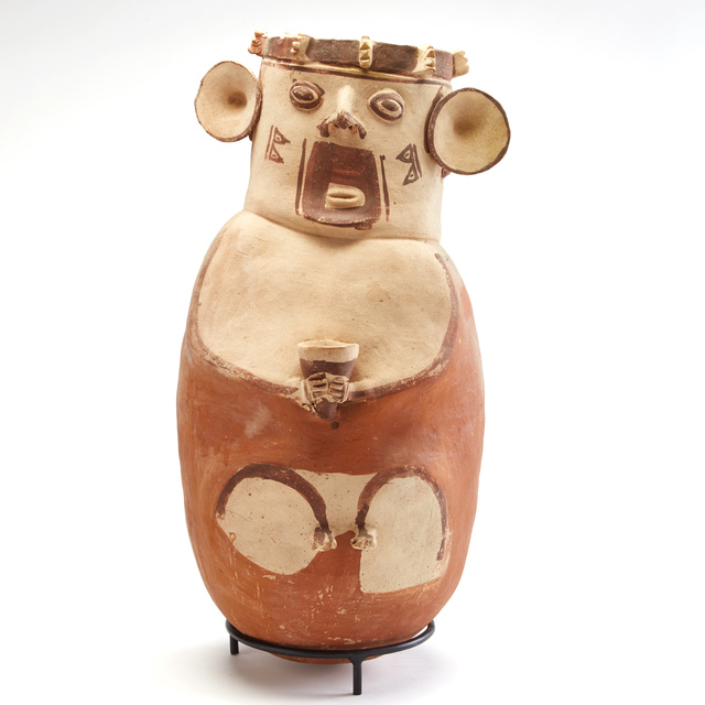 , 'Chancay Large Brown & White Urn,' c. 1000 -1425 AD, Stuart & Co. Gallery