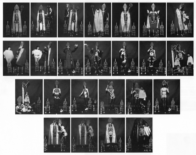 , 'Grüsse vom Vatikan,' 1973, Galerie Hans Mayer