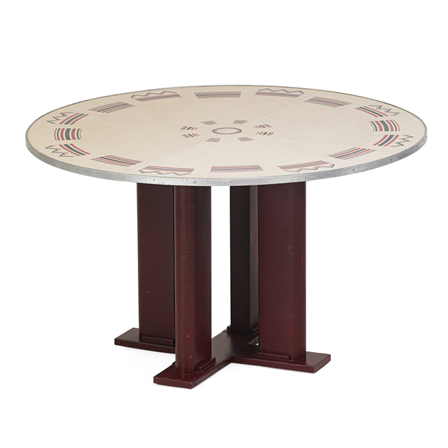 Jean Prouvé, 'Cible dining table, France', 1930s, Rago
