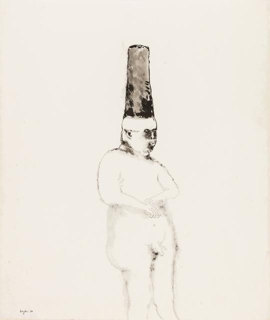 , 'The naked king,' 1970, Stevenson