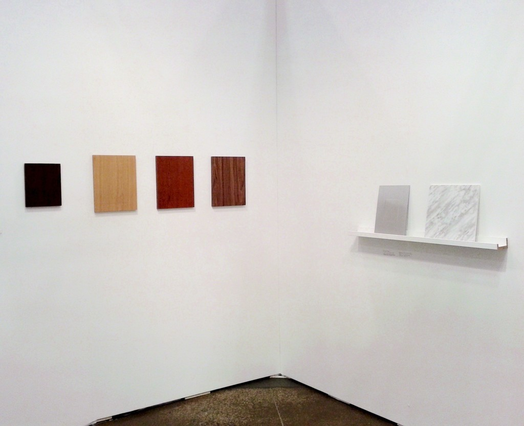 "Qendrim Hoti installation view - ""Lightless"" series"