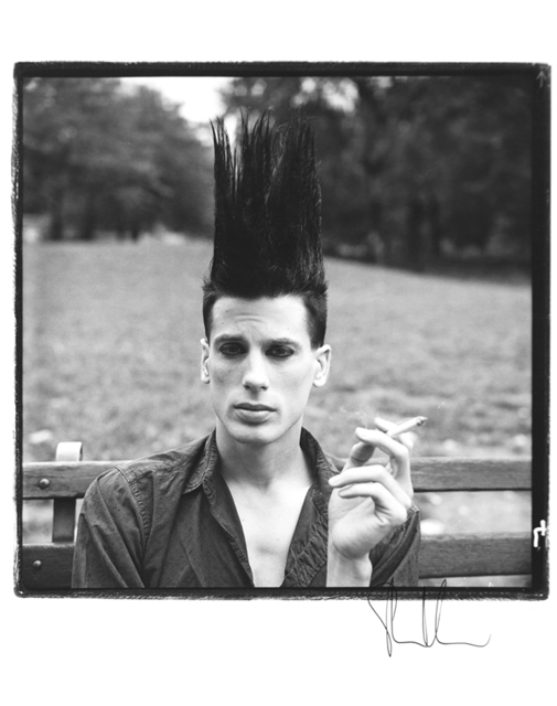 Steven Klein, 'Boy with Hair Sticking Up #3', 1985, ClampArt