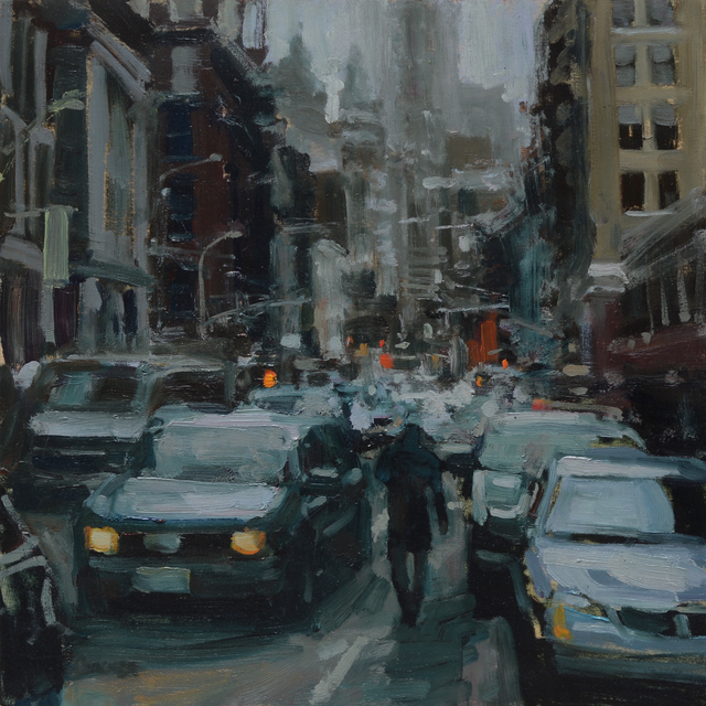 , 'City #3,' 2018, Abend Gallery