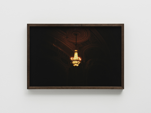 , 'One Chandelier, the Orpheum, Madison, WI,' 2010-2015, Pilar Corrias Gallery
