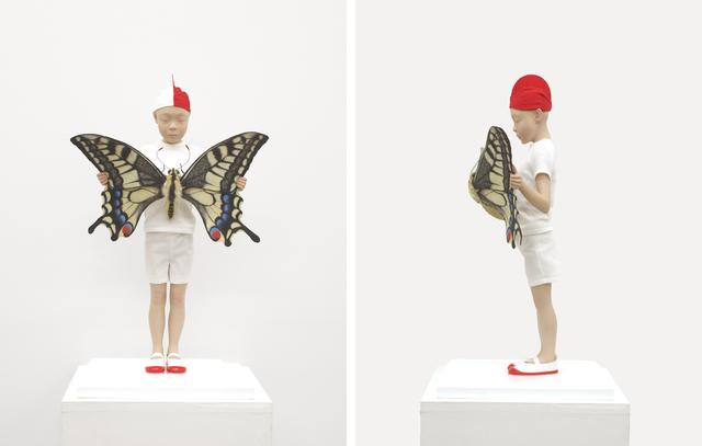 , 'Newspaper,' 2014, Tezukayama Gallery