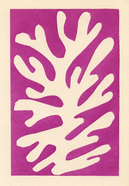 Henri Matisse, 'Pochoir 'Arbre de neige'', 1953, Artsnap