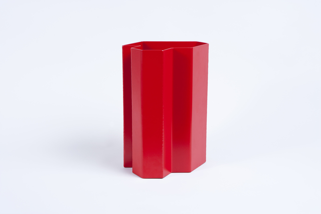 , 'Form #7 Large Red,' 2015, Patrick Parrish Gallery