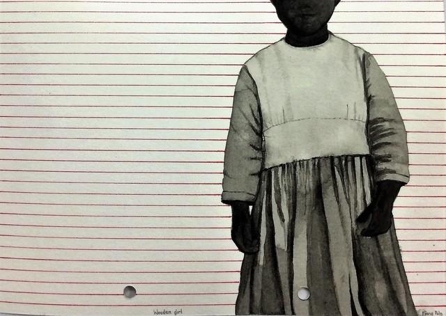 , 'Wooden Girl,' 2017, David Krut Projects