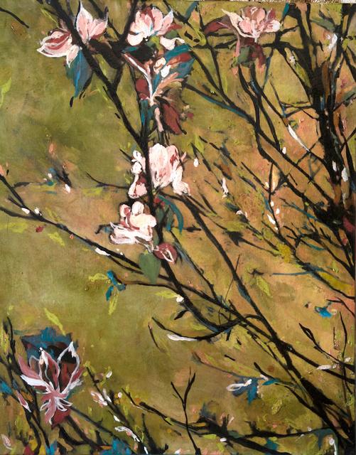 Ayline Olukman, 'Green Flowers', 2017, Massey Klein Gallery