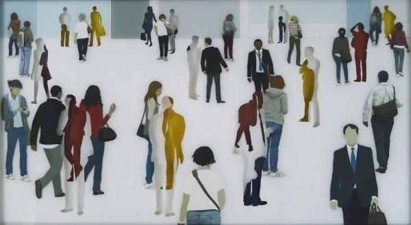 , 'Glasswork (Standwell),' 2018, TAG Fine Arts