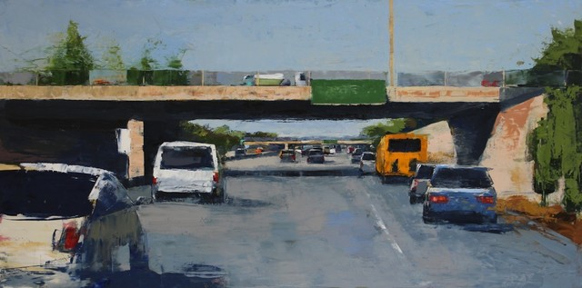 , 'Freeway No. 7 / oil on panel,' 2017, Andra Norris Gallery
