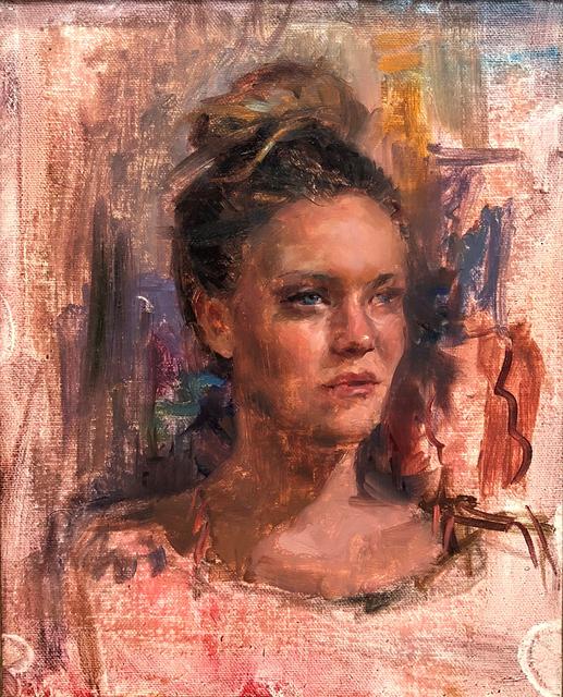 , 'Jess Study,' 2018, Abend Gallery