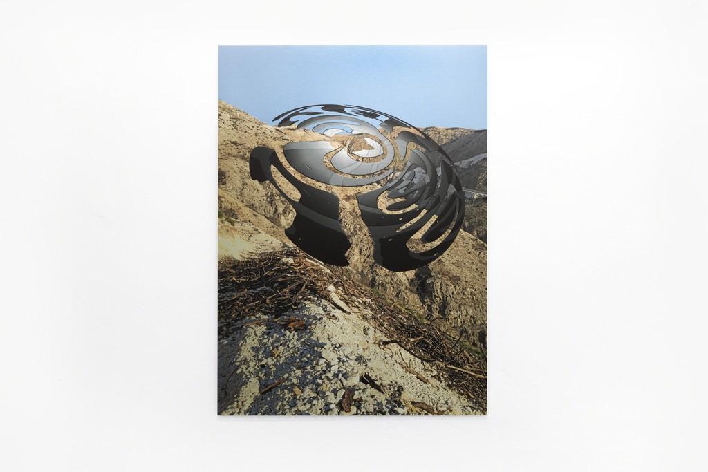 Roland Schappert O.T. (LOVE ABSOLUTELY) Pigmentdruck auf Aluminium 120 x 80 cm Aufl. 3 2017
