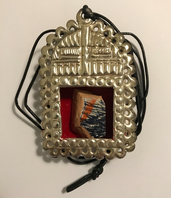 Grayson Perry, ''Reliquary' pendant', 2009, Artificial Gallery