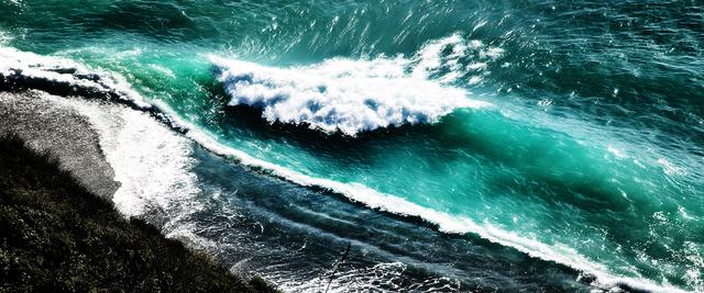 , 'Crashing Waves,' 2010, Oliver Cole Gallery