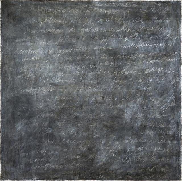 , 'Writings [Black] #6,' 2016, InLiquid