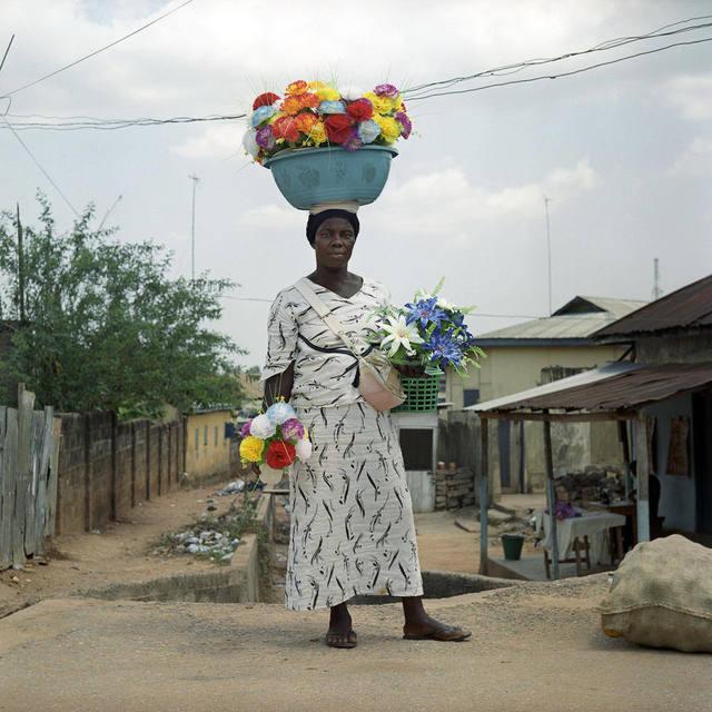 Denis Dailleux, 'La dame aux fleurs', 2012, Photography, C-Print, Galerie Peter Sillem