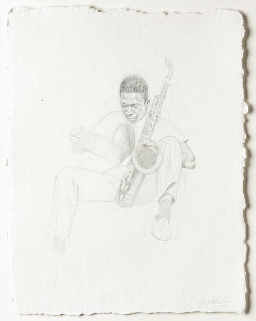 , 'Rest: Coltrane,' 2017, David Klein Gallery