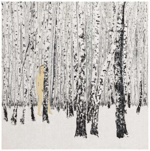 , 'Birch-Wood,' 2018, Galerie Forsblom