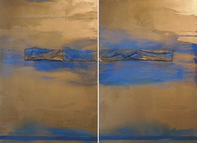 , 'Kinda Blue,' 2017, Walter Wickiser Gallery