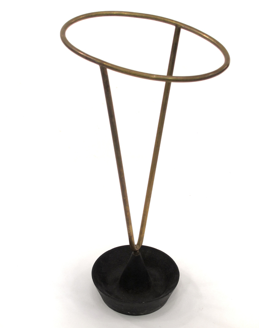 , 'Iron and Brass Umbrella Stand,' ca. 1950, Patrick Parrish Gallery