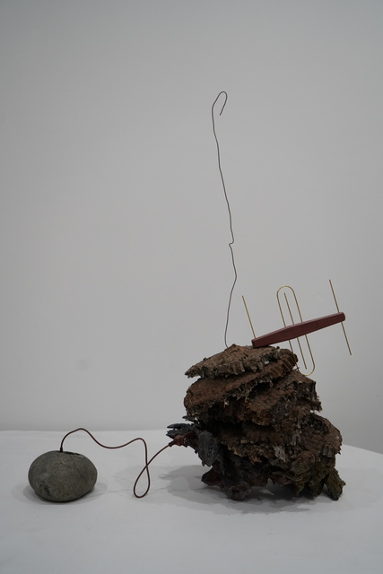 , 'From the primitive to the civilized 由原始到文明,' 2018, Edouard Malingue Gallery