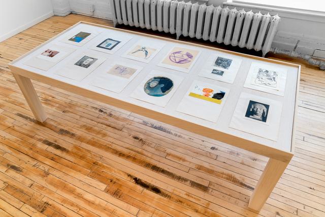 , 'Table,' 2018, Projet Pangée