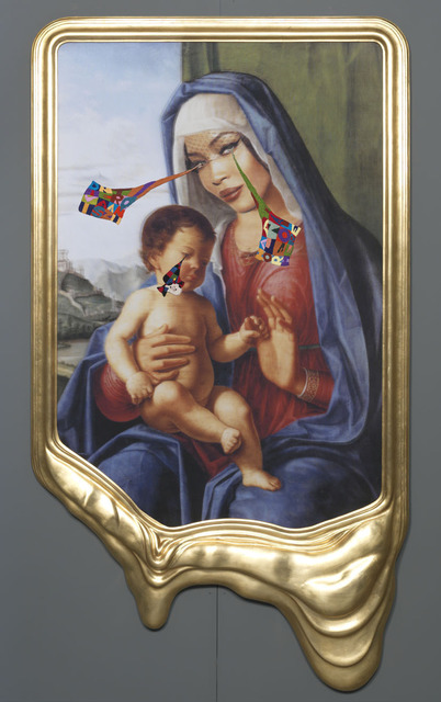 , 'CRYING PORTRAIT OF NAOMI CAMPBELL AS A RENAISSANCE MADONNA WITH HOLY CHILD (AFTER CIMA DA CONEGLIANO),' 2010, Gagosian