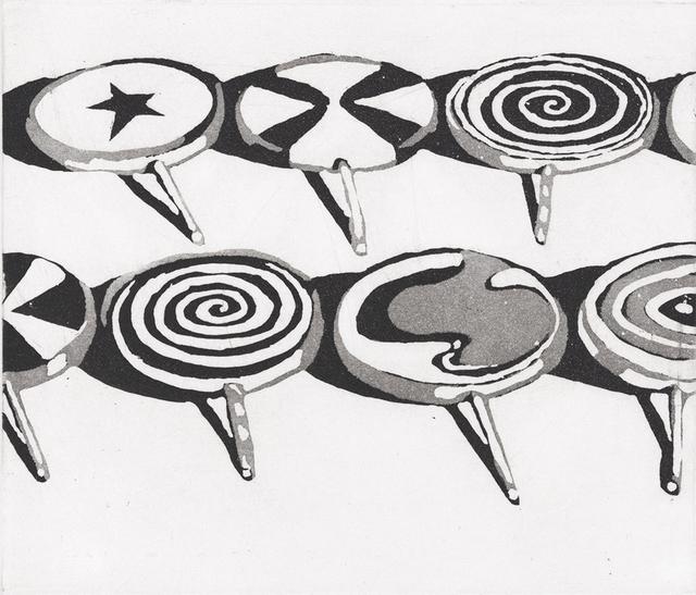 Wayne Thiebaud, 'Little Suckers', 1971-2014, Jim Kempner Fine Art