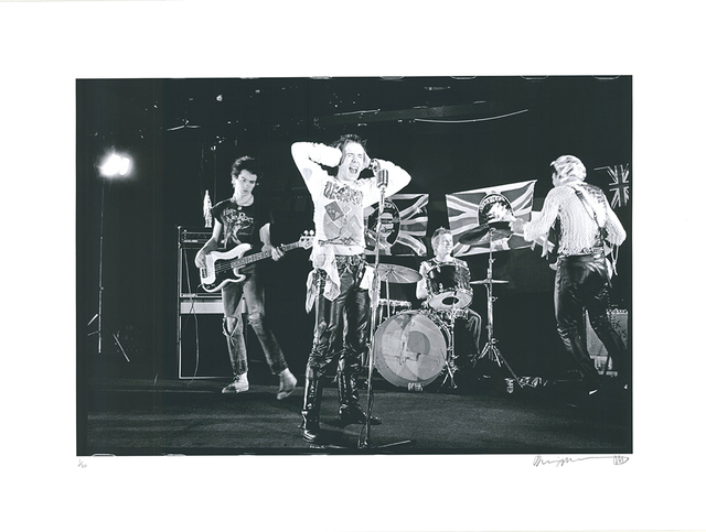 ", '""The Sex Pistols - Marquee Club"",' 2018, Galerie-F"