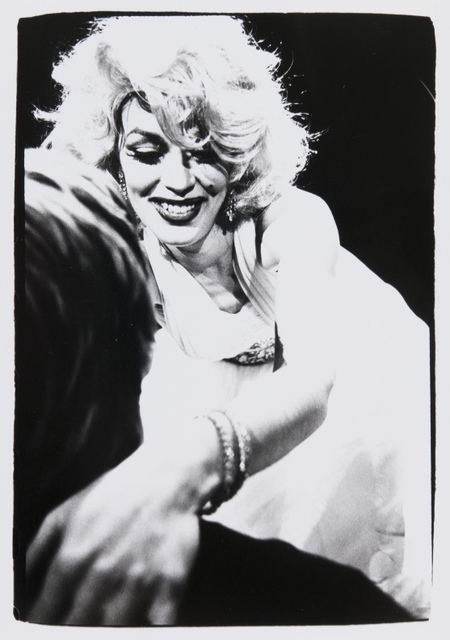 Andy Warhol, 'Andy Warhol, Photograph of a Marilyn Monroe Drag Impersonator', 1981, Hedges Projects