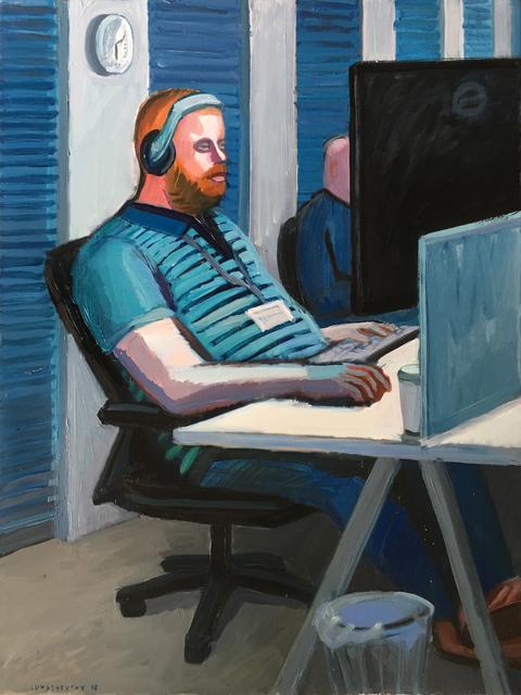 , 'A programmer,' 2018, Rosenfeld Gallery