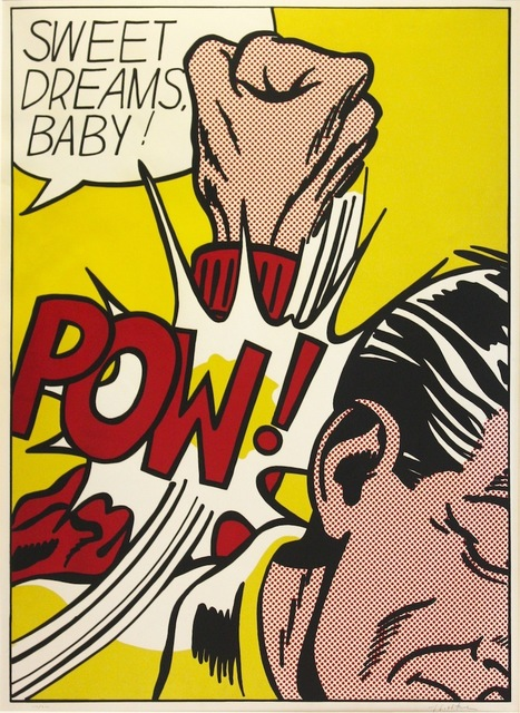 , 'Sweet Dreams Baby!, from the 11 Pop Artists portfolio, volume III,' 1965, Gregg Shienbaum Fine Art