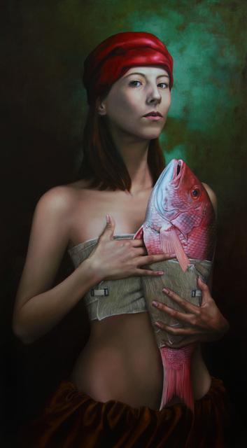 , 'La tentación y el pez,' 2012, Galerie AM PARK