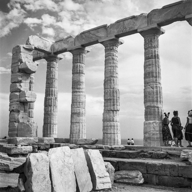, 'Sounion, Temple of Poseidon,' 1955, galerie SIT DOWN