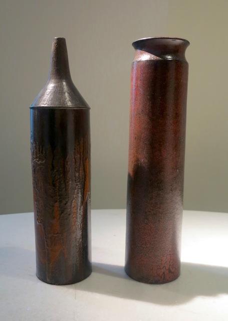 , 'Two Ceramic Vases,' 1970, Galleria Rossella Colombari