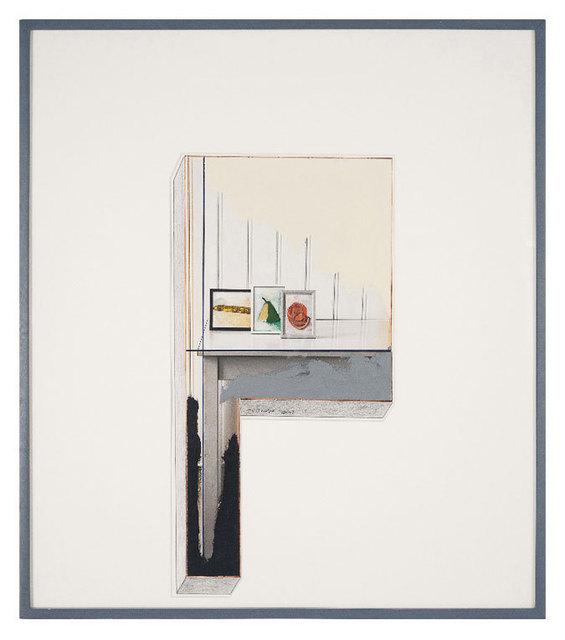 , 'Study for Cross I,' 1988, Galerie Bob van Orsouw