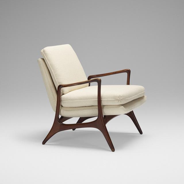 Vladimir Kagan, 'lounge chair', c. 1957, Rago/Wright