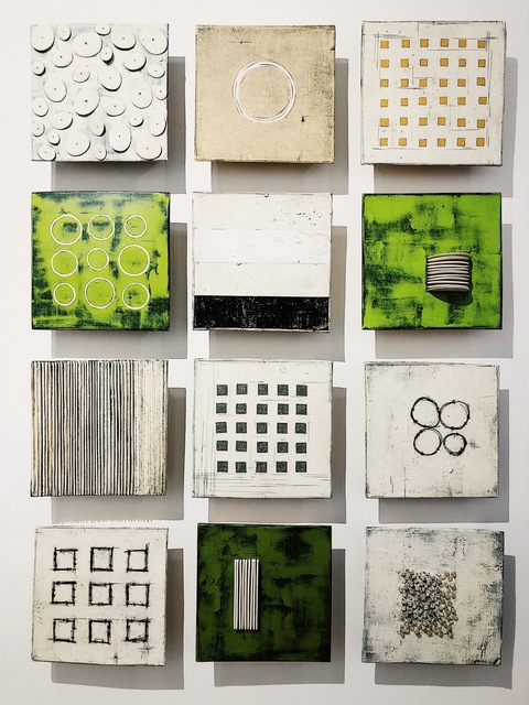 , 'Wall Square Grouping,' 2018, Alida Anderson Art Projects
