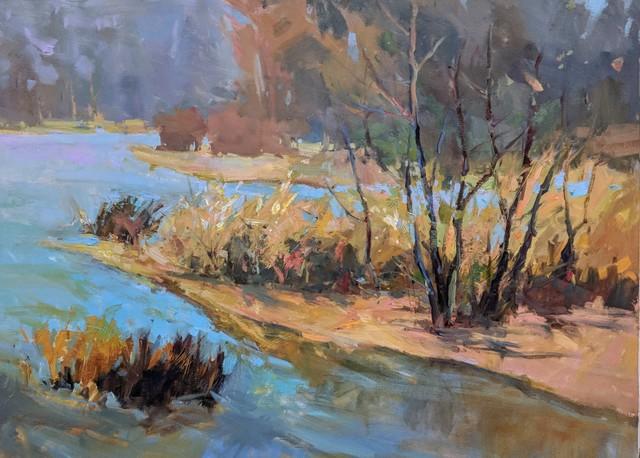 Millie Gosch, 'River Sonnet', 2019, Painting, Oil on Canvas, Anne Neilson Fine Art