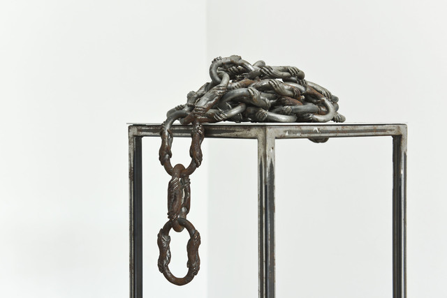", 'Chain from ""Mercy of Not Killing"",' 2017, Migrant Bird Space"