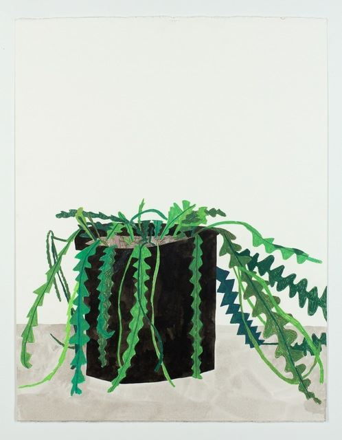 , 'Untitled (Zigzag Plant),' 2011, Patrick De Brock Gallery