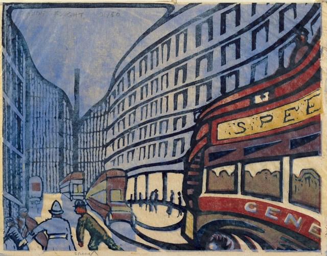 , 'Speed,' ca. 1922, The Fine Art Society