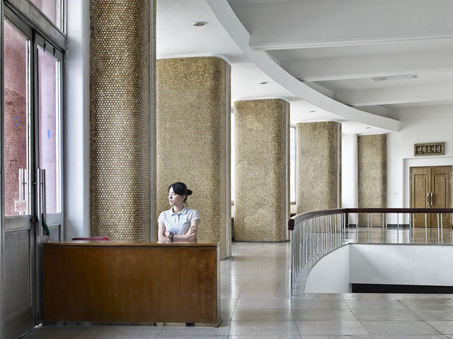 , 'Waiting (Entrance of Pyongyang Ice Rink),' 2016, The Ravestijn Gallery