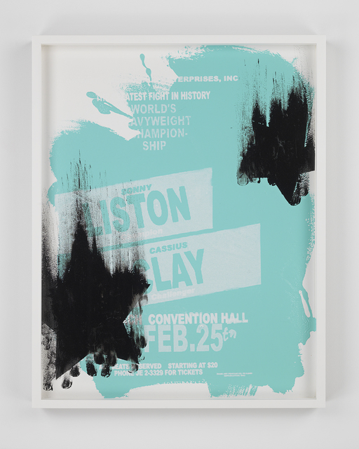Gary Simmons, 'Liston Clay Star Fall', 2014, Metro Pictures
