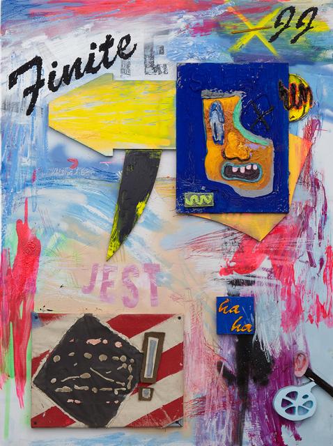 , 'Finite Jest (haha),' 2016, VICTORI+MO CONTEMPORARY