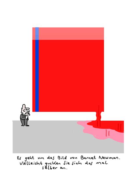 , 'Newman,' 2018, Galerie Floss & Schultz