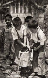 Children, Japantown, Los Angeles, California