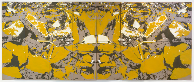 , 'Dystrophic Mirror (Polyptych),' 2015, MOVART
