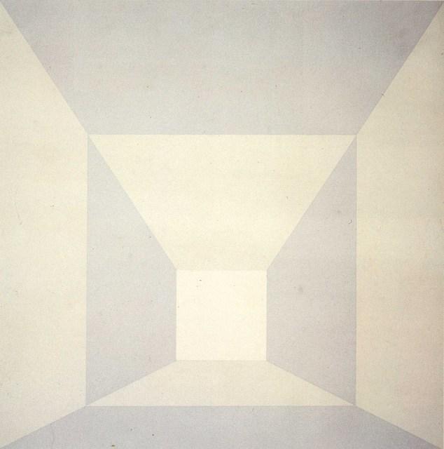 Josef Albers, 'Mitered Squares, Plus II,' 1976, Alan Cristea Gallery